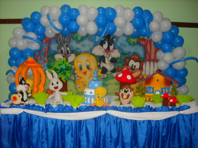 Tapete Baby Looney Tunes : Related to Festa Baby Looney Tunes Decora??o festa infantil Baby