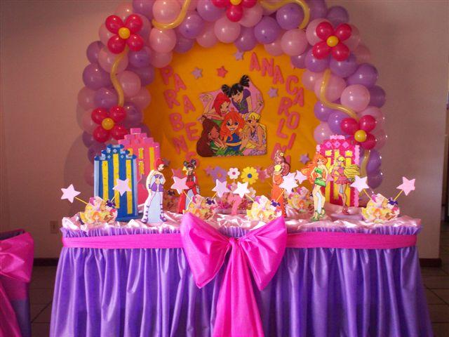 decoracao festa winx:Decoracao Festa Das Winx
